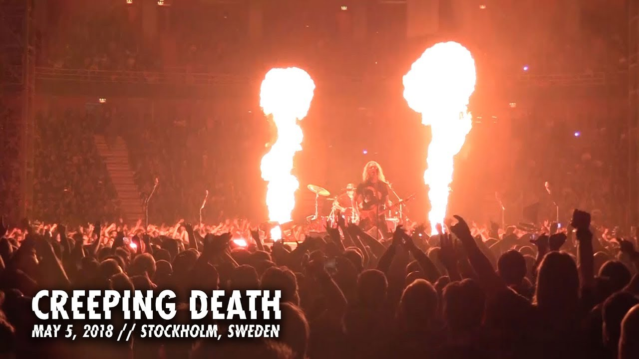 Metallica: Creeping Death (Stockholm, Sweden — May 5, 2018)