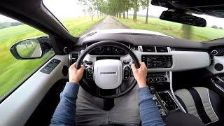 pov drive 2015 range rover sport svr w loud exhaust