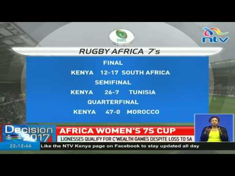 Kenya Lionesses qualify for Common Wealth games despite loss to SA
