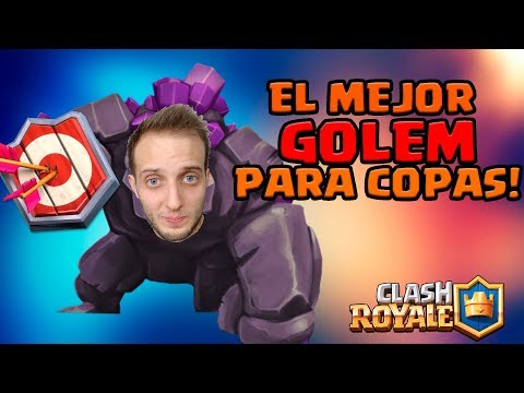 MI MEJOR MAZO DE GOLEM MÁS BESTIA PARA COPAS DE ESTA TEMPORADA! (5.3) | Clash Royale en Español