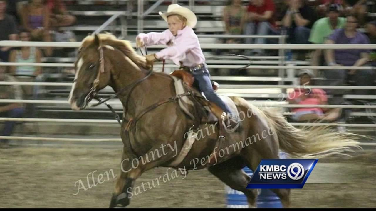 Vigil honors girl, 12, who died in freak barrel-racing accident