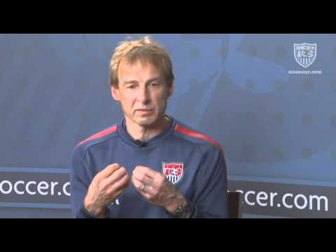U.S. Soccer Interview with Jurgen Klinsmann
