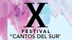 Festival Cantos del Sur, 23 de junio, Tribuna del Sur