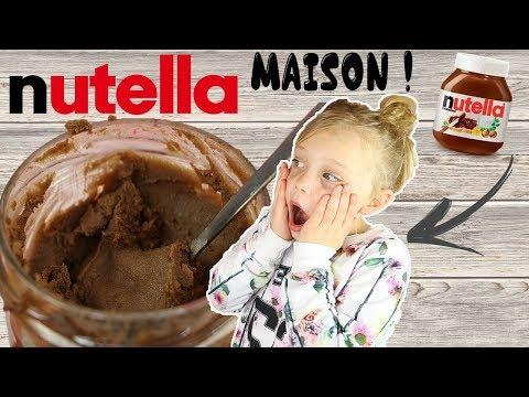 ♡• ON FAIT DU NUTELLA MAISON !! •♡