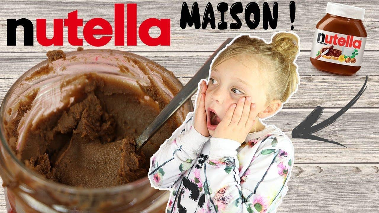 Recette Nutella Maison Youtube