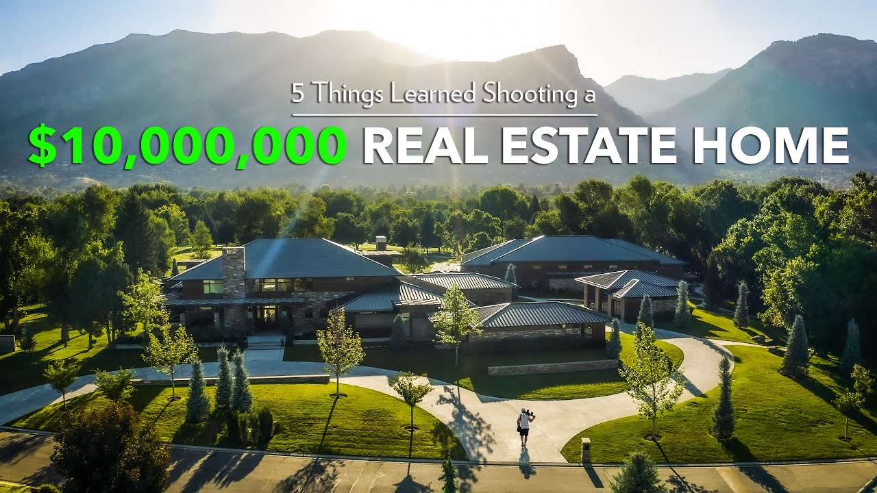I Shot a $10,000,000 Real Estate Home (5 Things I Learned)