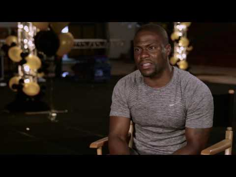 "Central Intelligence: Kevin Hart ""Calvin Joyner"" Behind the Scenes Movie Interview"