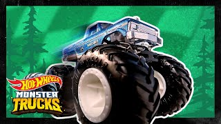 BIGFOOT vs. MONSTER TRUCKS! | Monster Trucks | Hot Wheels