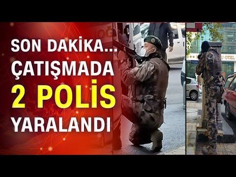 Son dakika! Kahramanmaraş'ta bir otelde polisle silahlı çatışma