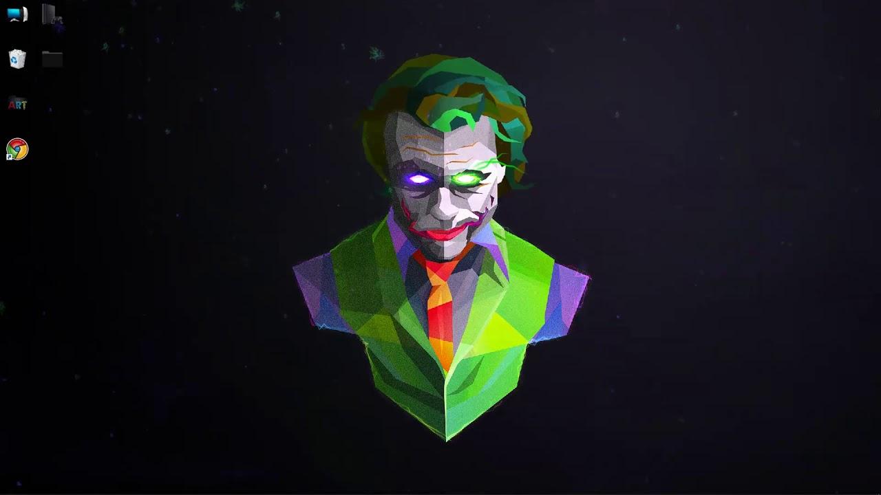 wallpaper engine The Joker no steam need - YouTube