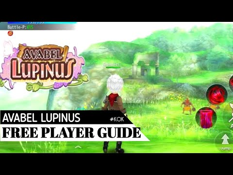 Avabel Lupinus - Free Players Guide For Finding Good Equipment! (ENG Subtitle)