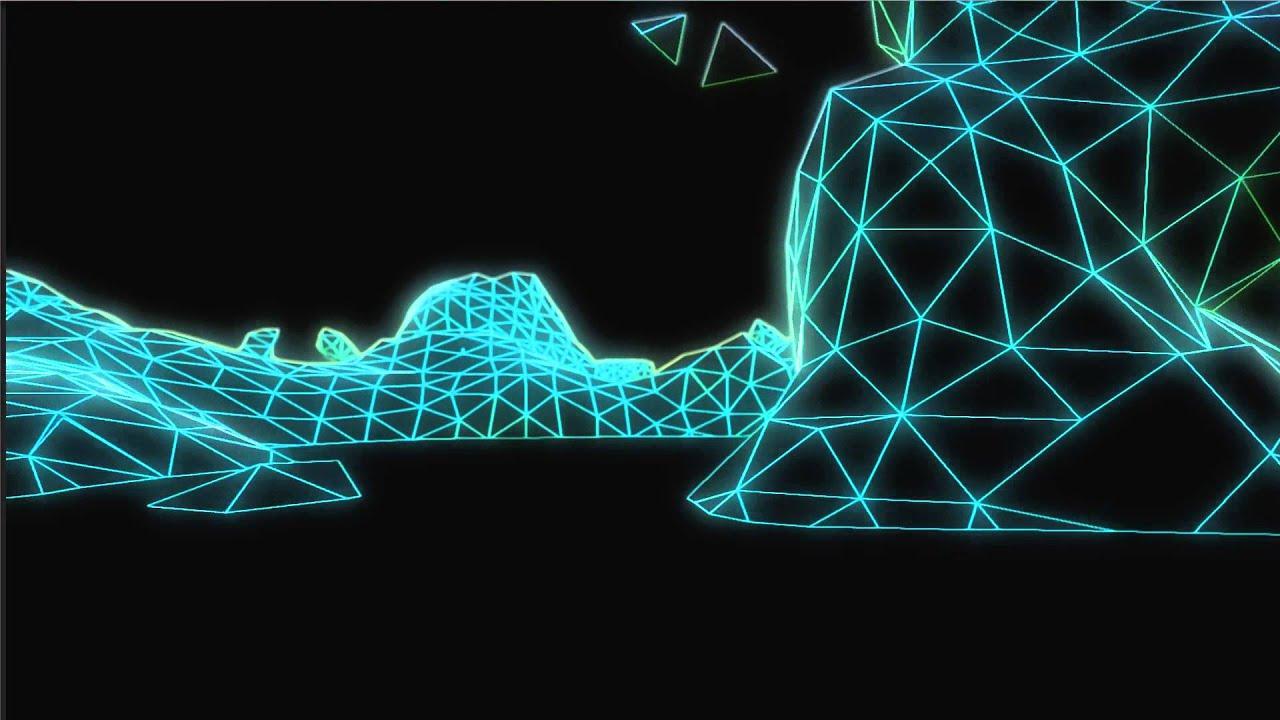 Unity 3d Wallpaper Tron Shader Fun Youtube