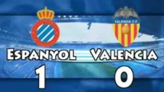 Espanyol 3 - Valencia 0  03/05/09  Liga BBVA  Resumen