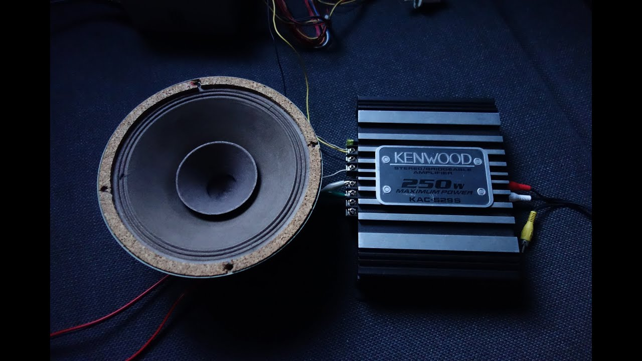 Testing A Kenwood Kac-529s 250w Car Amplifier