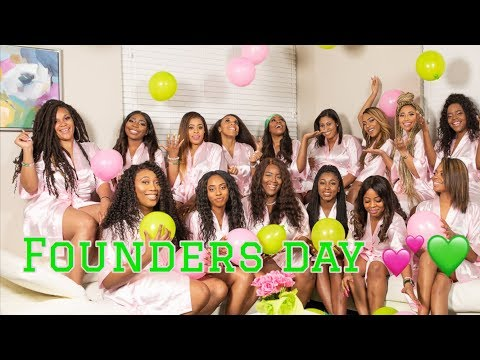 FOUNDERS DAY VLOG | AKA | PART 2 💕💚 Mp3