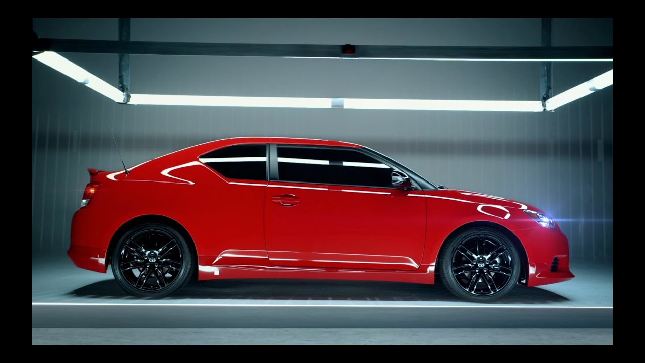 scion tc release series 8 0 in absolutely red youtube. Black Bedroom Furniture Sets. Home Design Ideas
