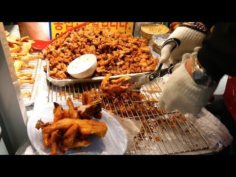 Mouthwatering KOREAN FOOD TOUR in SEOUL, South Korea - dakgalbi, fried chicken + MORE!