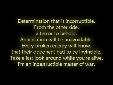 Disturbed - Indestructible [Lyrics]