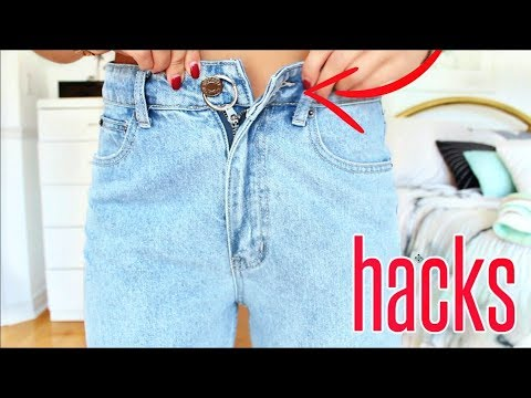 9 Jean HACKS EVERY Girl MUST Know !!