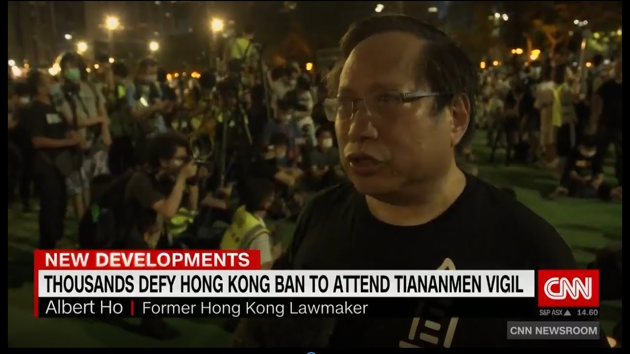Thousands in Hong Kong Defy Police Ban to Remember Tiananmen ...