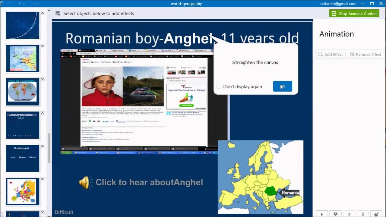 free presentation maker to make interactive presentation focusky