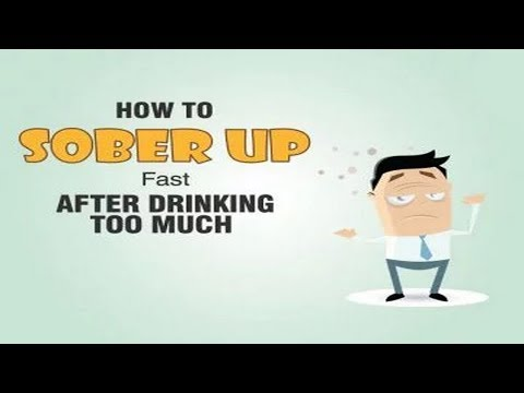 How can i stop being sick after drinking