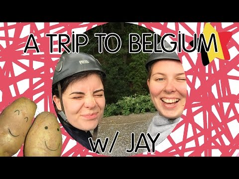 A TRIP TO BELGIUM w/ JAY