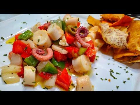 How to make Ensalada de Pulpo (Octopus Salad) Easy, Step by Step