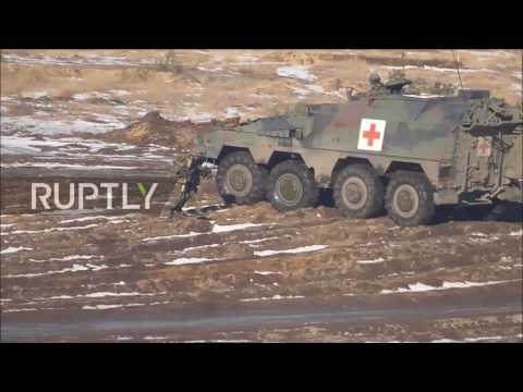 Poland: Large-scale NATO-member drill enters final phase in Poland