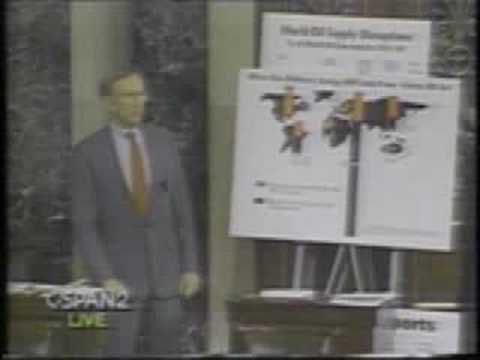 Senator Jim Jeffords Energy Bill 1992 WCAX-TV