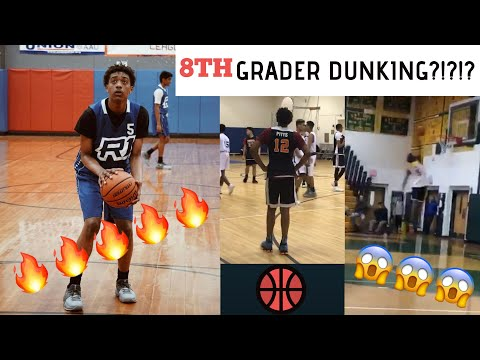 6'4 8th Grade Wing Catches Nation By Surprise   Middle