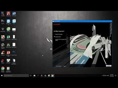 Hướng dẫn tải và cài đặt autocad 2010 bản 32bit, 64bit full crack PCH