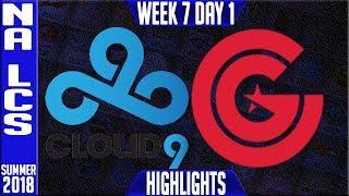 Video C9 vs CG Highlights | NA LCS Summer 208 Week 7 Day 1 | Cloud9 vs Clutch Gaming download MP3, 3GP, MP4, WEBM, AVI, FLV Agustus 2018
