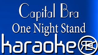 Capital Bra - One Night Stand | Karaoke Lyrics