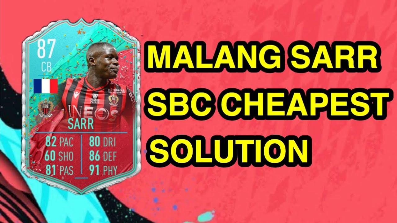 Fifa 20 Fut Birthday Malang Sarr Sbc Cheapest Solution Fifa 20 Sbc Cheap Fifa 20 Ultimate Team Youtube