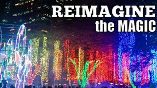 VLOG #13 • Christmas Festival of Lights 2018 | Ayala Triangle Garden (Reimagine the Magic)