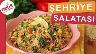 Beğeni Rekorları Kıracak ŞEHRİYE SALATASI - Yedikçe yedirten salatalardan :)