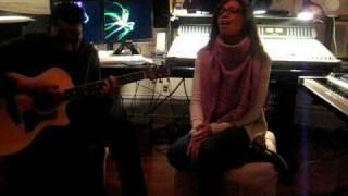 Amanda Brown singing You Complete Me