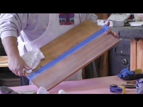 How To Remove Pickled Wood Finish : Wood Furniture