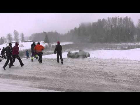 Võrumaa Talveralli 2014 mistakes and crashes