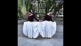 Dekhte Dekhte | Bati Gul Meter Chalu | Dance Choreography| Prachi Sanghvi ft Nidhi Dhanani