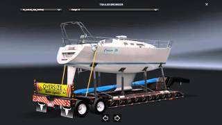 This mod adding Overweight Trailers 31 cargo  Tested version 1.23 The trailer is standalone The trailer not in traffic Compatible with all trailer packs * Respect the download link *