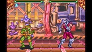 Teenage Mutant Ninja Turtles - Tournament Fighters - -Tournament Walkthrough- Vizzed.com - User video