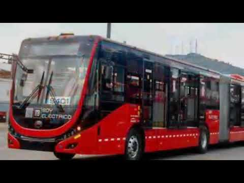 Primer autobús eléctrico que circulará en línea 3 operara mañana