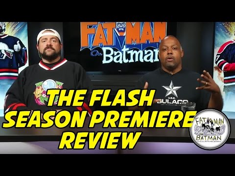 THE FLASH SEASON PREMIERE WITH KEVIN AND MARC - FAT MAN ON BATMAN 067