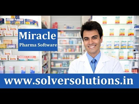 Miracle : GST Ready Pharma ERP Software