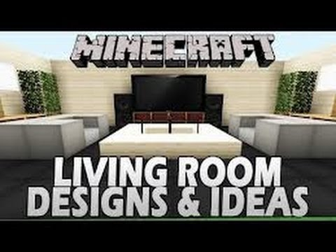 Minecraft Tutorial How To Make Luxury Living Room Cow House