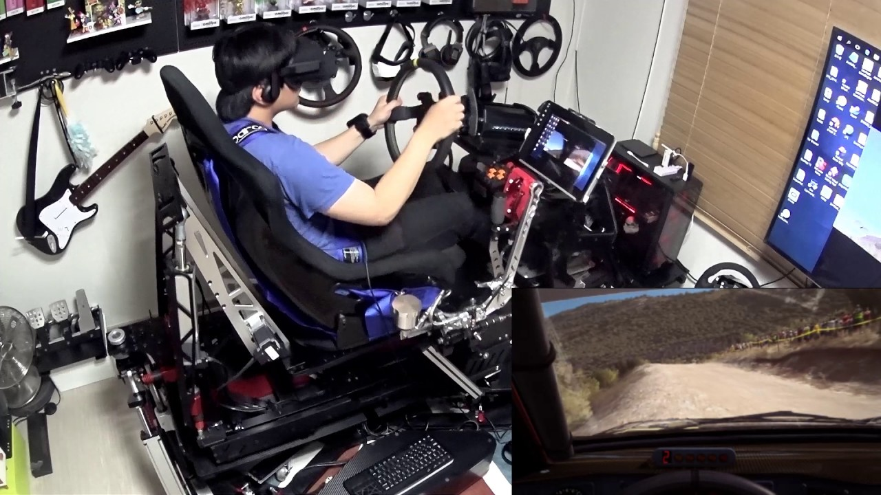 It's Ok to Be Jealous of This $25,000 VR Racing Rig, We Are Too