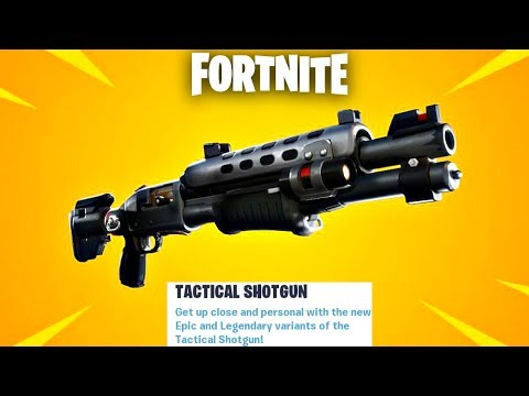 "Fortnite New Legendary ""Tactical Shotgun"" Update Countdown + Gameplay! (Fortnite New Update)"