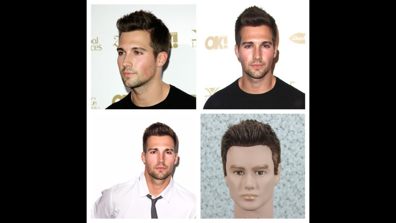 James Maslow Haircut Tutorial Youtube